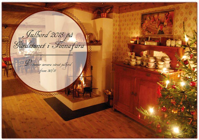 Julbord på Gårdstunet